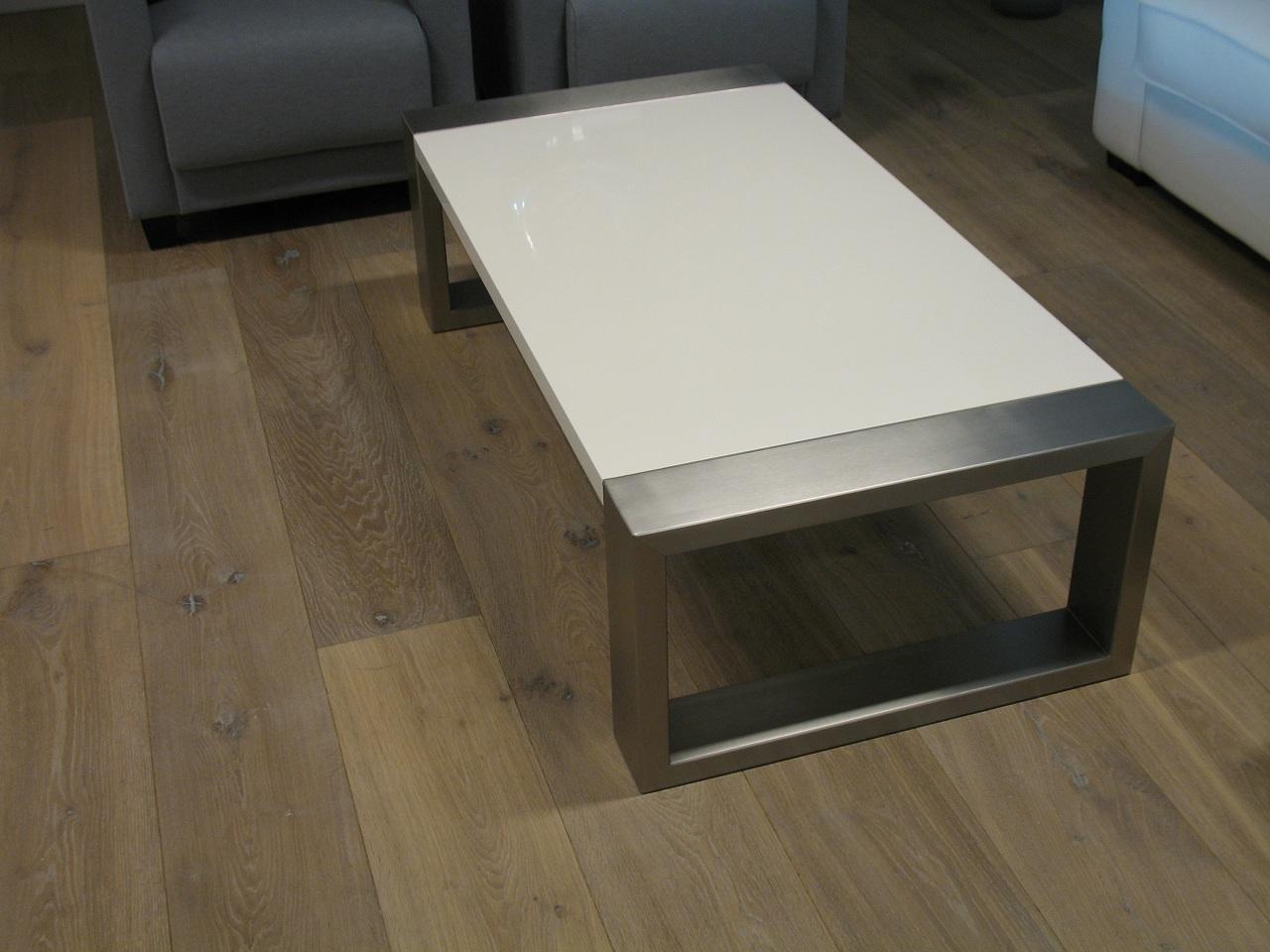 Eikenhout En Hoogglans Wit Salontafel ~ Home design idee u00ebn en meubilair inspiraties